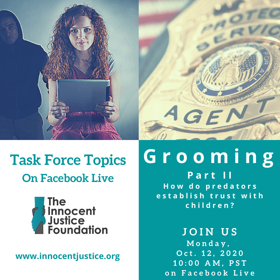 Copy of Grooming Task Force Topics Sept 14 2020