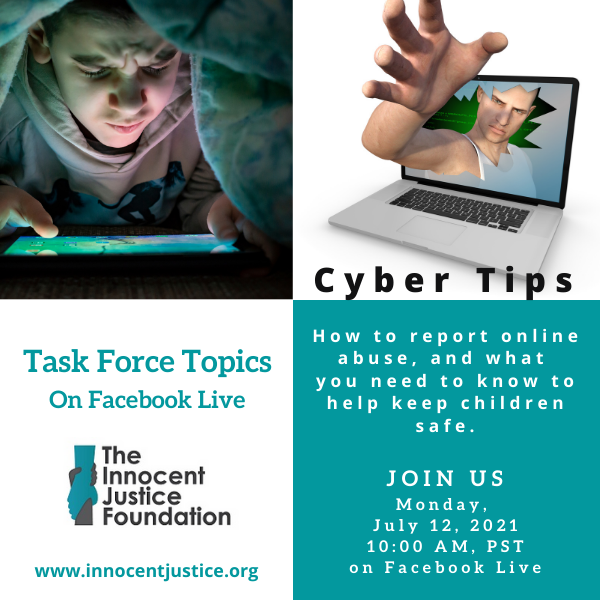 #3 cyber Tips Task Force Topics July 12 2021